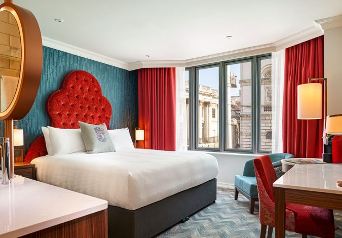 Win A Two Night Midweek Break at the new Hard Rock Hotel Dublin with Dinner for Two in Zampas Bar & Restaurant