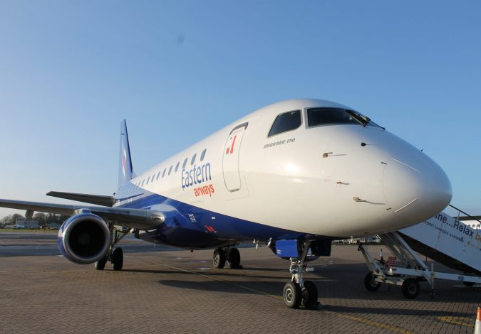 Win Two Return Flights from Belfast City Airport to Cardiff or Southampton Airports with Eastern Airways