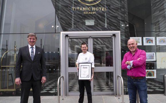 Hat Trick of Awards for Titanic Hotel Belfast