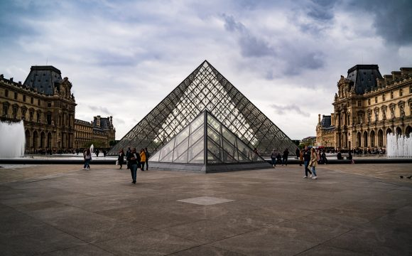 Louvre Museum in Paris Reopens to Visitors