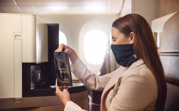 Etihad Airways Introduces MicrobeBARRIER™ Face Protection