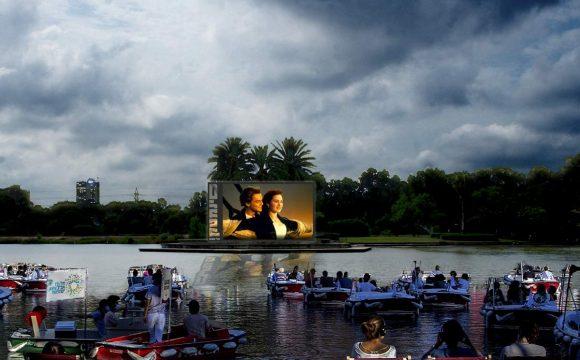 """""""Sail-in"""" for Movie Night in Tel Aviv!"""