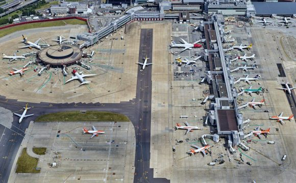 Gatwick Airport First in UK to Roll out UV Disinfecting