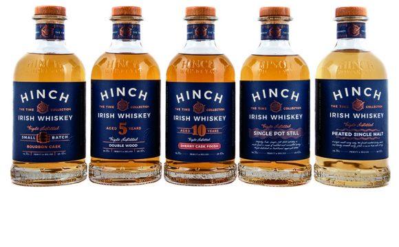 Win a bottle of Hinch Irish Whiskey and Ninth Wave Irish Gin