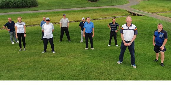 Travel Golf Society Meets for Socially Distanced Game