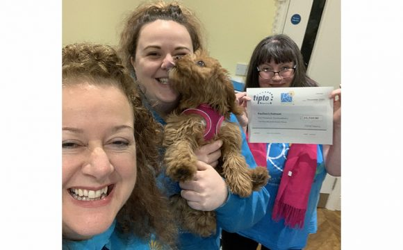 TIPTO Presents Charity Partner Reuben's Retreat with £1,500 Fundraising Total