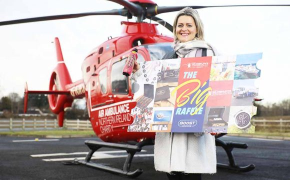 Air Ambulance NI to BOOST Your Mood with Spectacul-AIR Raffle