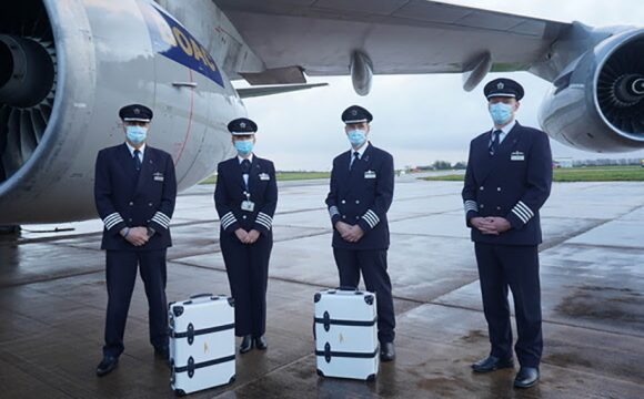 Unique BOAC 747-Inspired Suitcases Auctioned for Flying Start