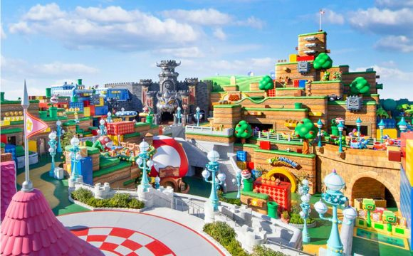 Super Nintendo World Grand Opening March 2021