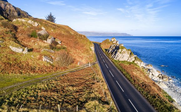 Causeway Coastal is One of the Most EV-Friendly Road Trip Routes in the UK