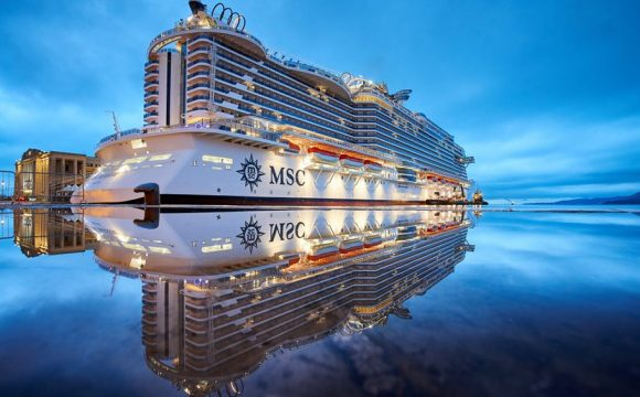 MSC, Fincantieri and Snam Team Up for World's First Oceangoing Hydrogen-Powered Cruise Ship