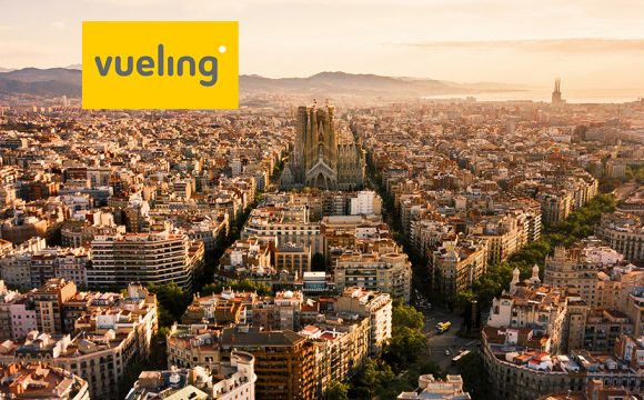 Win Two Return Flights from Belfast City Airport to Barcelona with Vueling