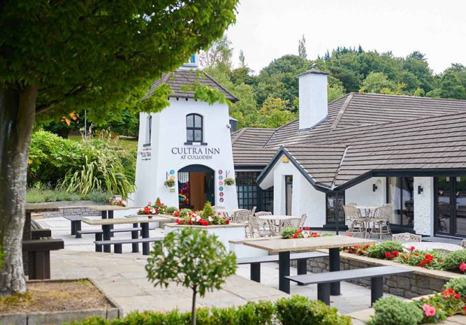 Win Lunch for Two at Cultra Inn