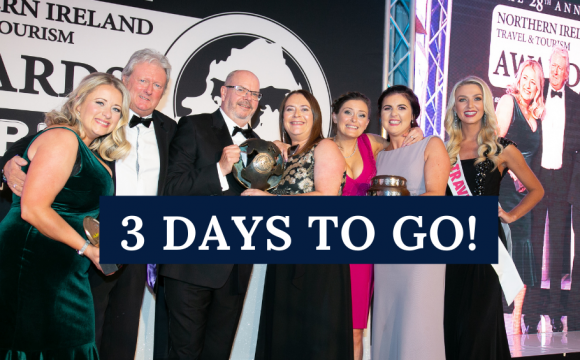 THE EXCITEMENT BUILDS FOR THIS YEARS TRAVEL & TOURISM AWARDS