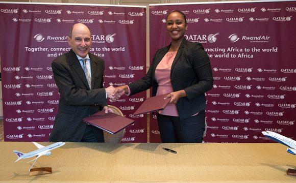 RwandAir and Qatar Airways Confirm Codeshare Agreement